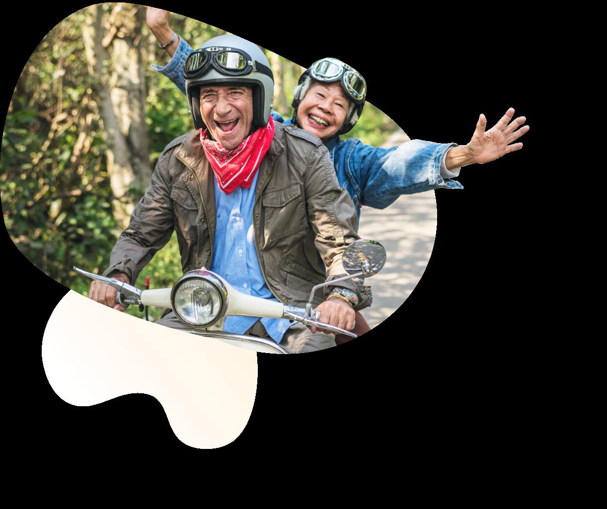 Ajaib - Rencana pensiun dimulai dari toleransi risiko awal dan akan mengingatkan Anda untuk menurunkan risiko yang akan diambill mendekati waktu pensiun.