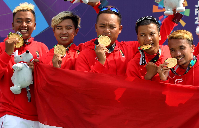 Perolehan Medali Emas Asian Games dari Hening Paradigma