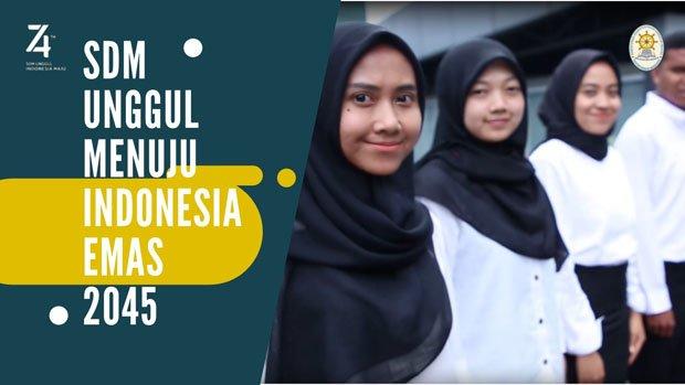4 Cara Milenial Wujudkan Indonesia Emas 2045