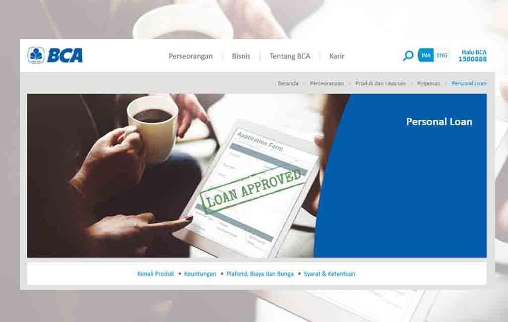 KTA BCA Personal Loan