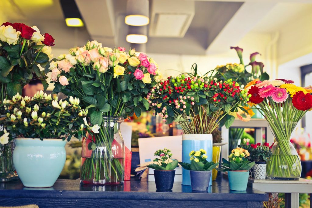 bisnis toko bunga