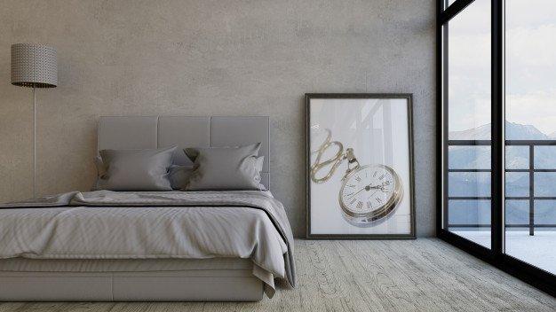 Interior Ini Bikin Kamar Tidur Mewah untuk Dipandang