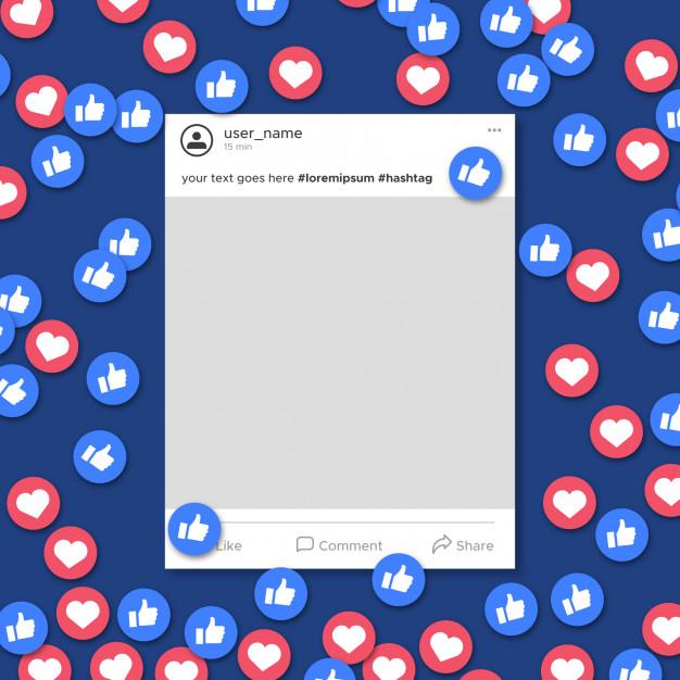 mendapatkan like di facebook