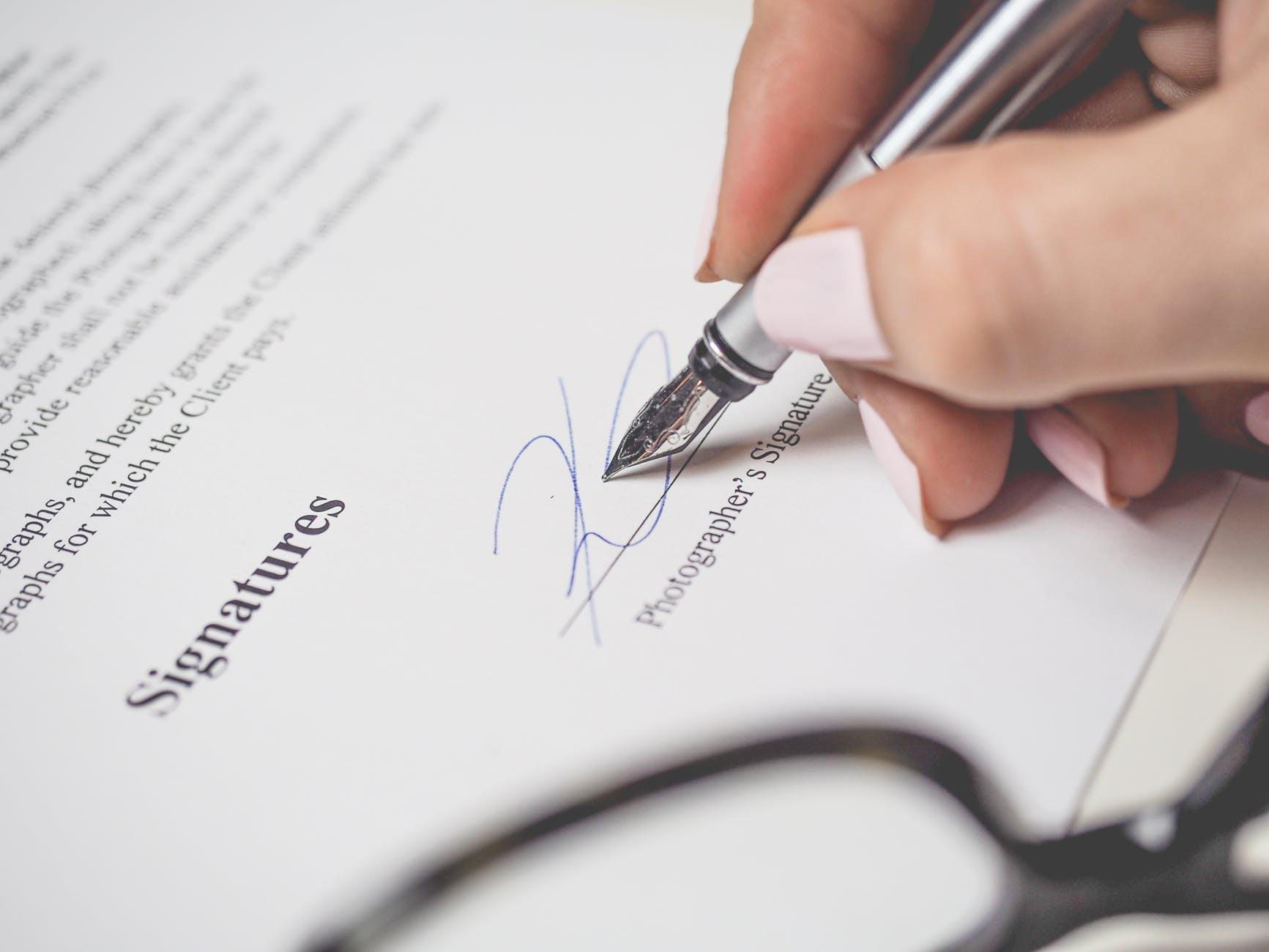 Contoh Surat Perjanjian untuk Melindungi Transaksi Bisnis