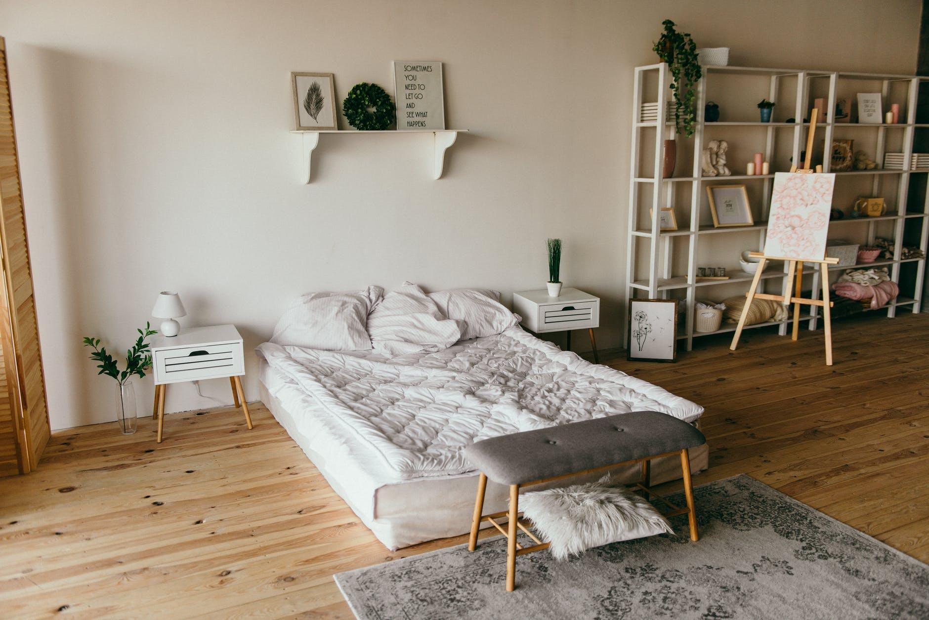 Ide Interior Kamar Tidur Minimalis yang Kekinian