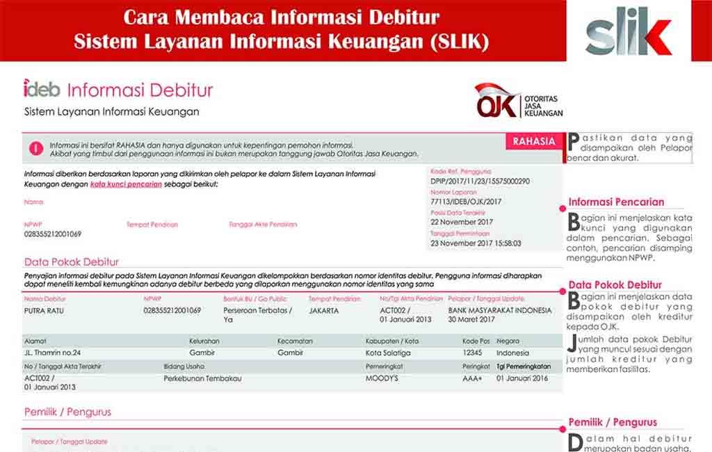 BI Checking Online untuk Kemudahan Pengajuan Pinjaman Bank
