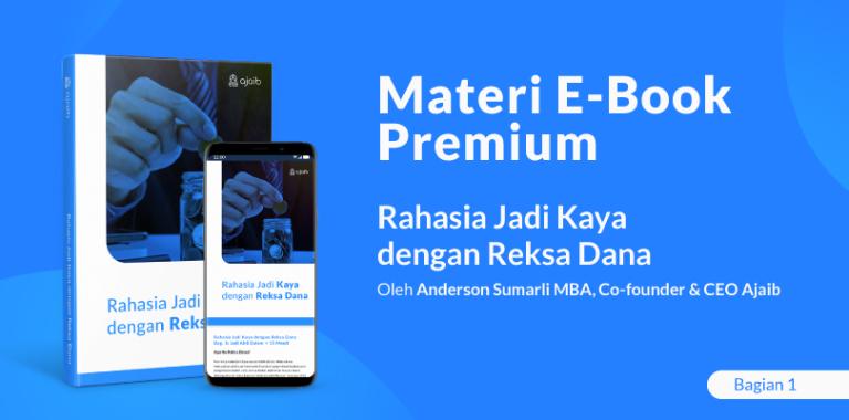 E-book Premium: Rahasia Jadi Kaya dengan Reksa Dana