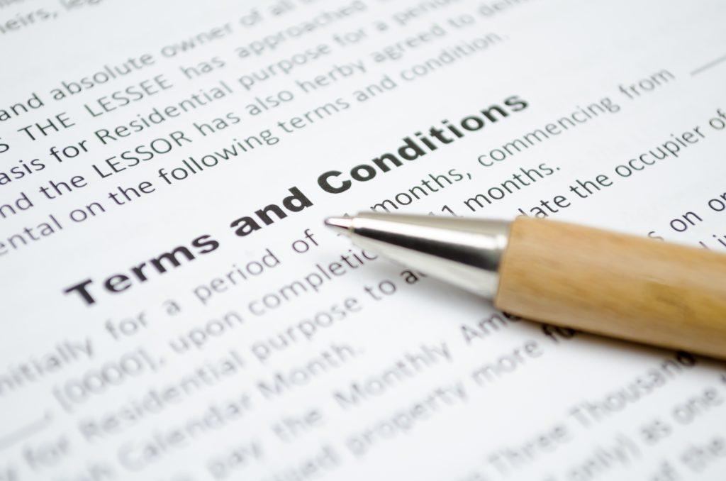 syarat dan ketentuan asuransi