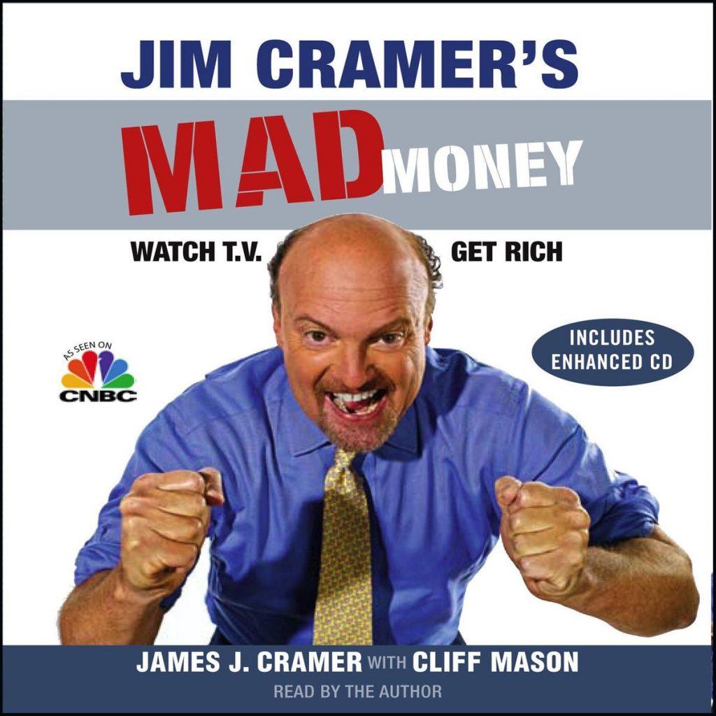 Jim Cramer's mad money. Jadi kaya dengan menonton TV? Sebuah perspektif terkait investor rasa trader