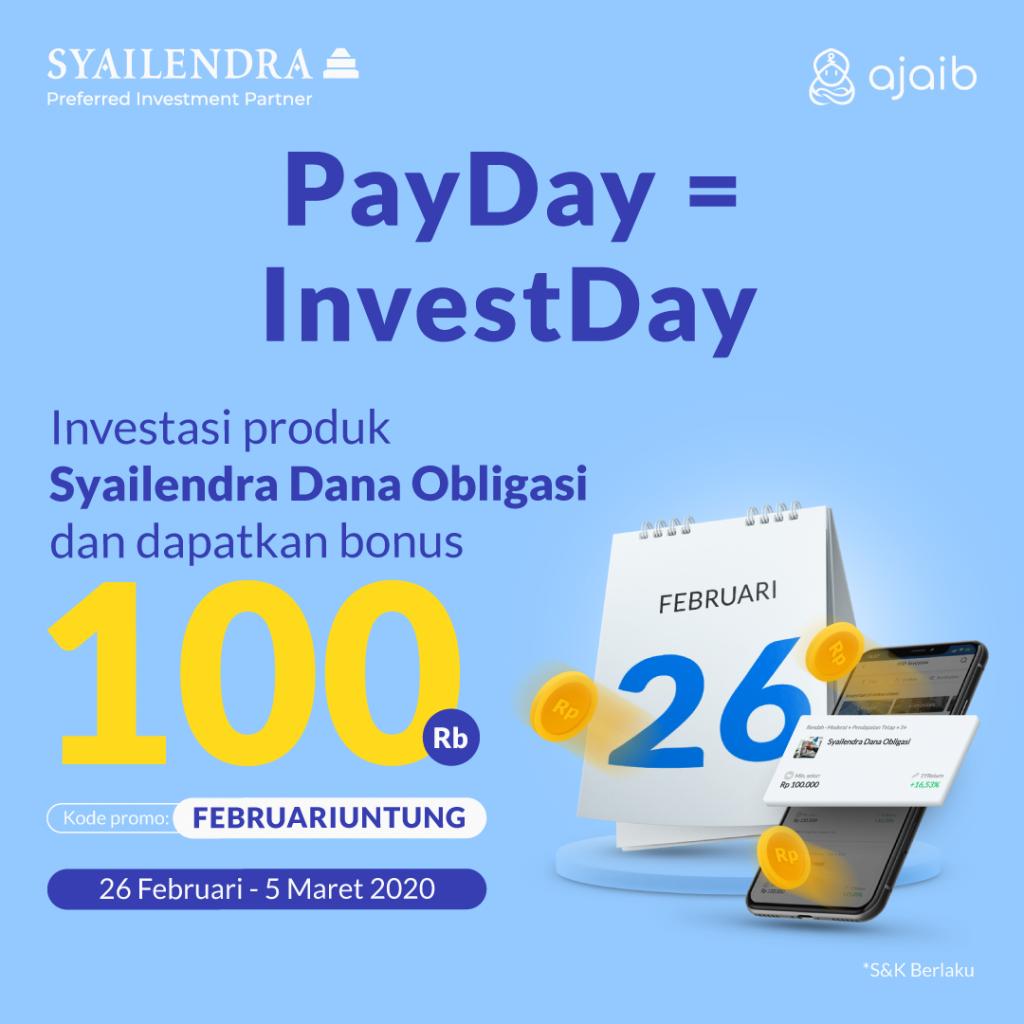 Ilustrasi artikel Ajaib: S&K PayDay Februari Bersama Syailendra Capital Asset Management!