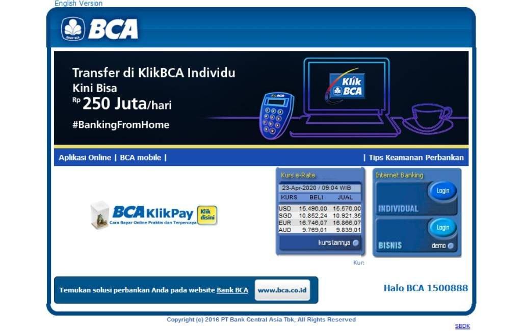 BCA Click