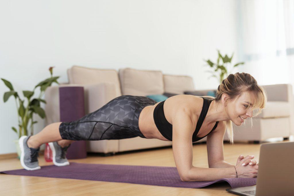 Fitnes Era New Normal Tetap Semangat Walau Virtual