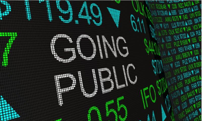 perusahaan go public