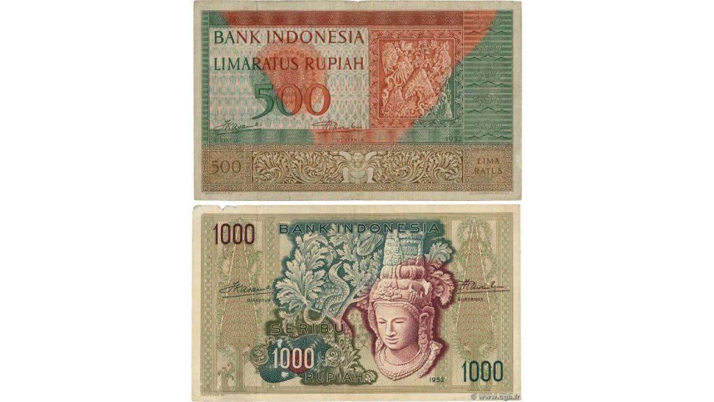 Uang Seribu Rupiah 1952
