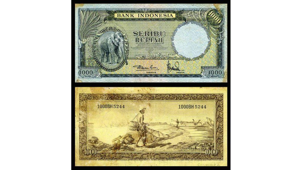 Uang Seribu Rupiah 1957
