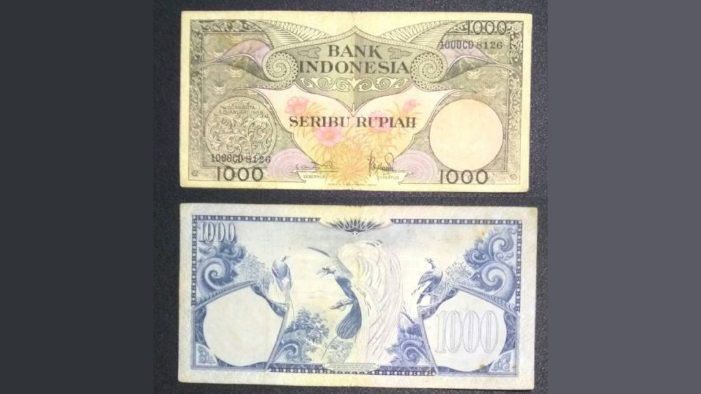 Uang Seribu Rupiah 1959