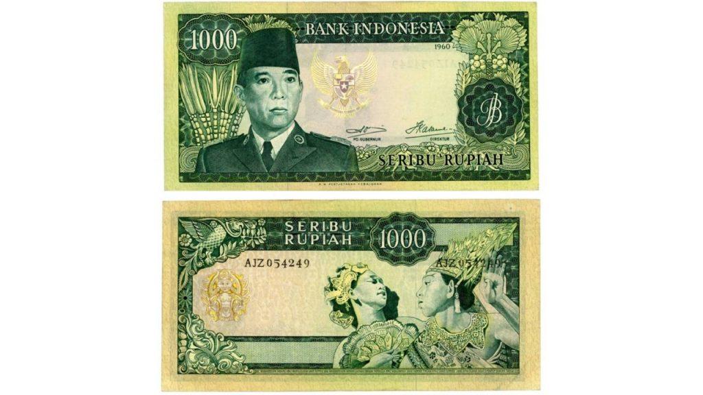 Uang Seribu Rupiah 1960