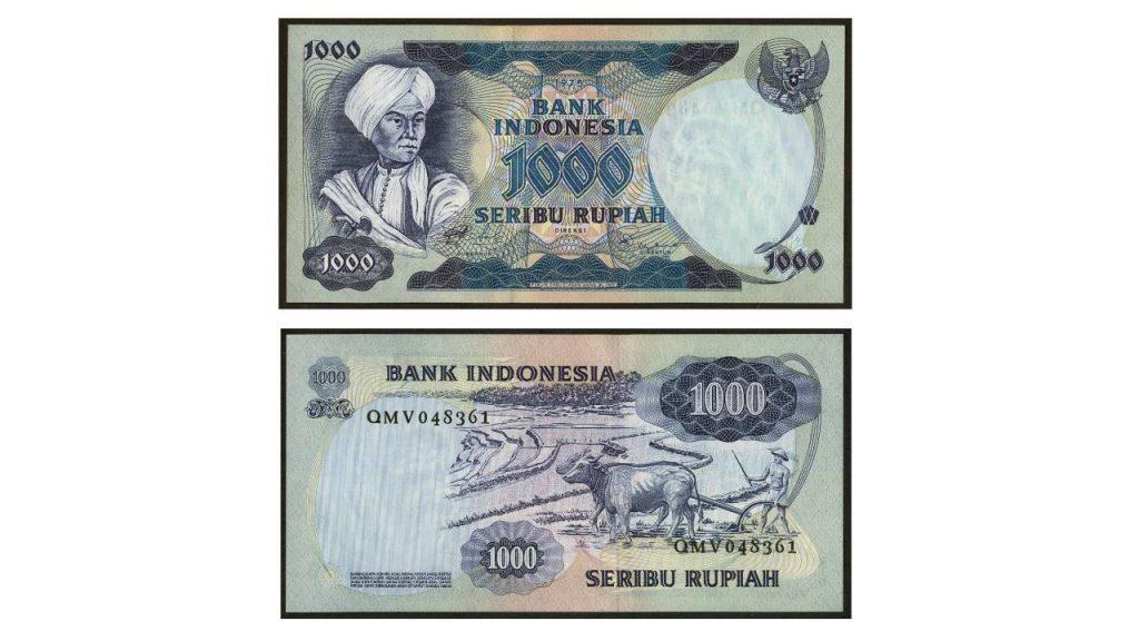 Uang Seribu Rupiah 1975