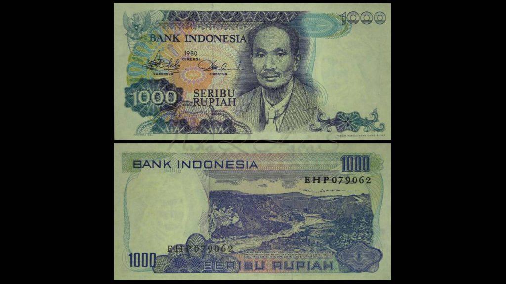 Uang Seribu Rupiah 1980