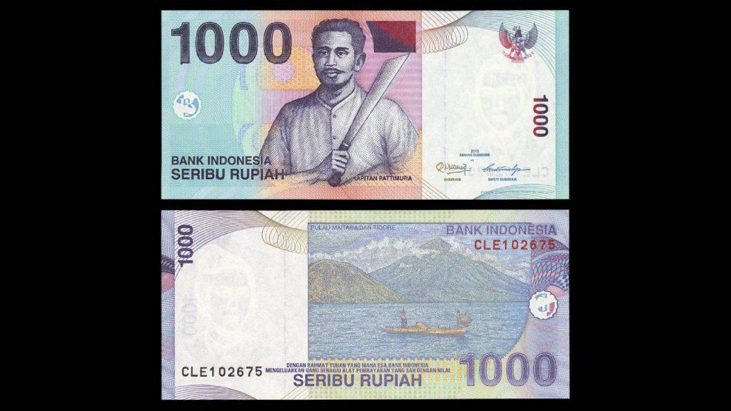 Uang Seribu Rupiah 2000