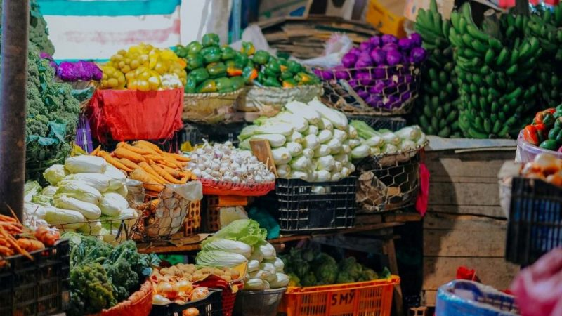 Pasar tradisional.