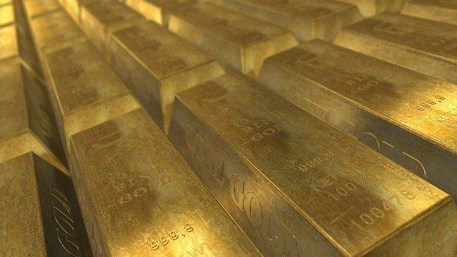 emas batangan.