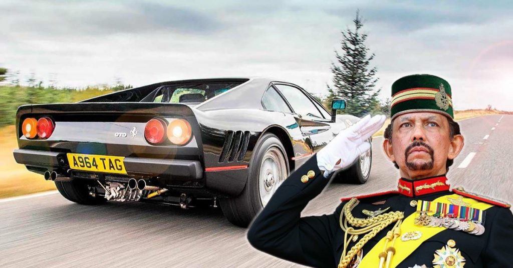 Kolektor mobil mewah Sultan Hassanal Bolkiah dari Brunei Darussalam