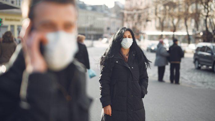 Ilustrasi tindakan ekonomi di masa pandemi.