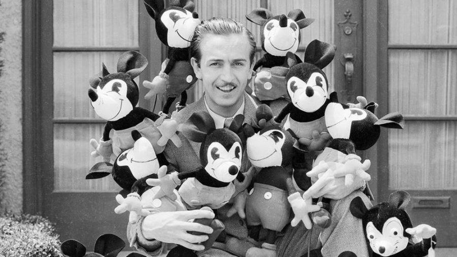Sosok Walt Disney.