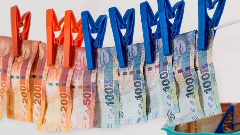Ilustrasi pencucian uang.