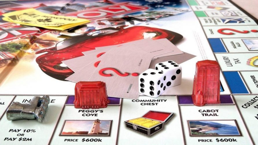 Permainan Monopoli.