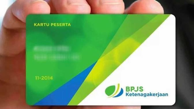 Ilustrasi kartu jamsostek yang sekarang berubah menjadi BPJS Ketenagakerjaan.