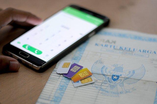 cara daftar kartu SIM
