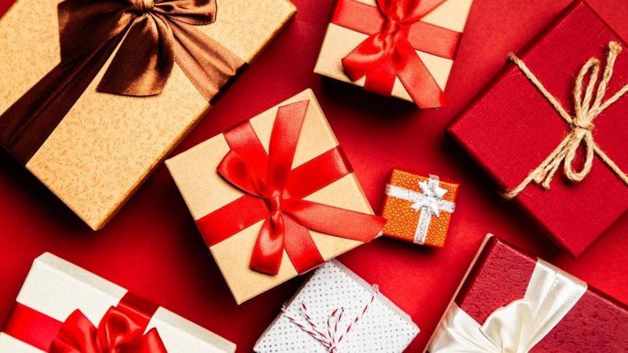 Kotak hadiah.