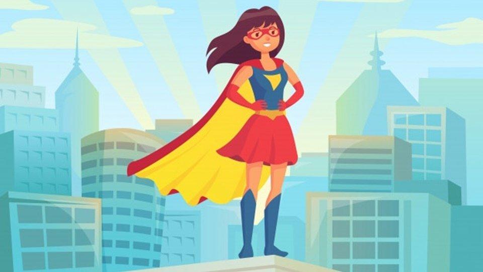 apakah kamu superwoman?