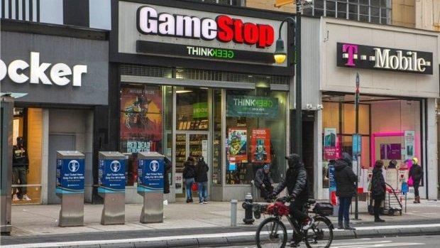 Toko GameStop.