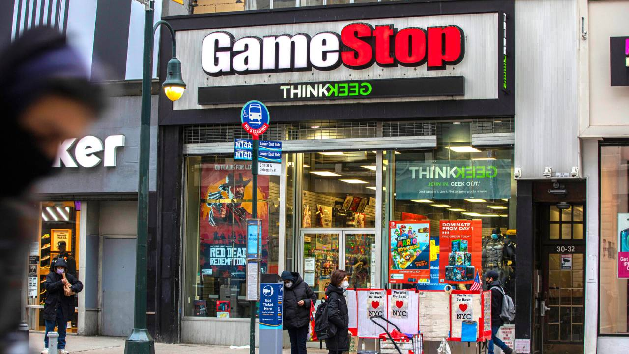 Fenomena Gamestop