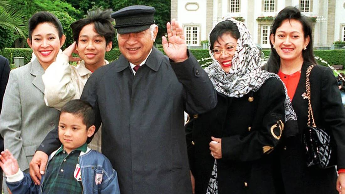 Keluarga Soeharto.