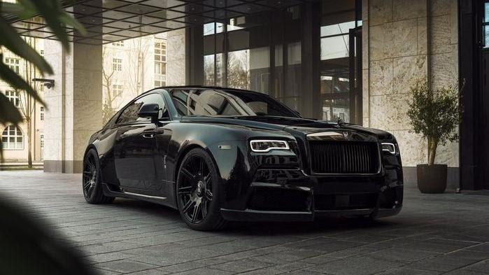 Mobil Rolls-Royce Wraith.