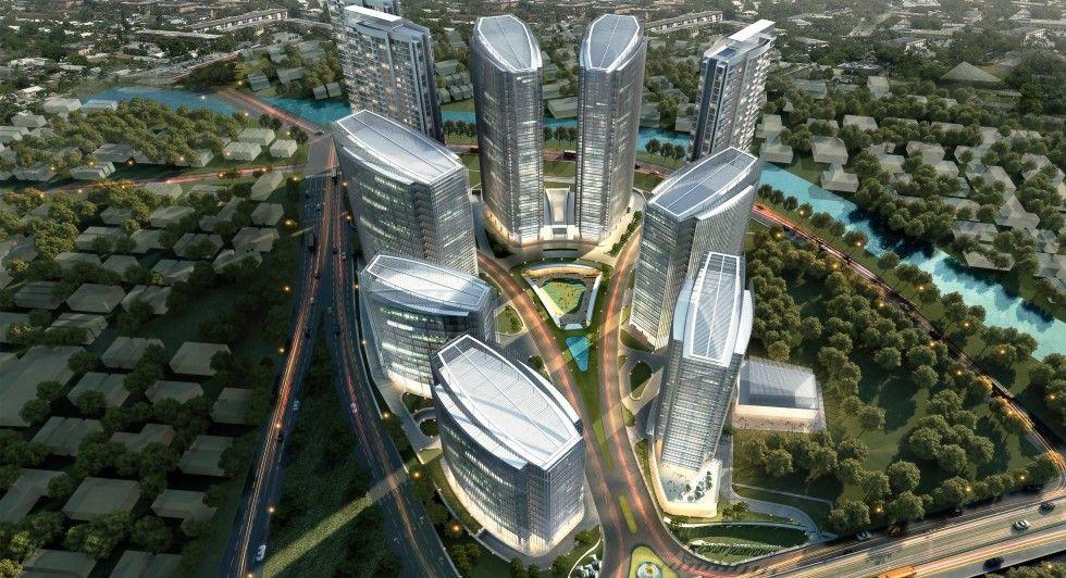 Ilustrasi gedung properti emiten saham CTRA.