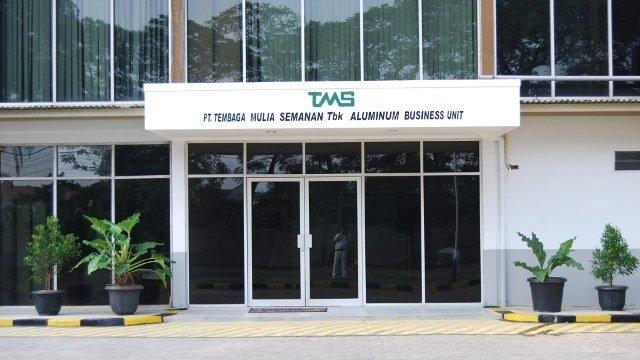Salah satu gedung emiten saham TBMS.