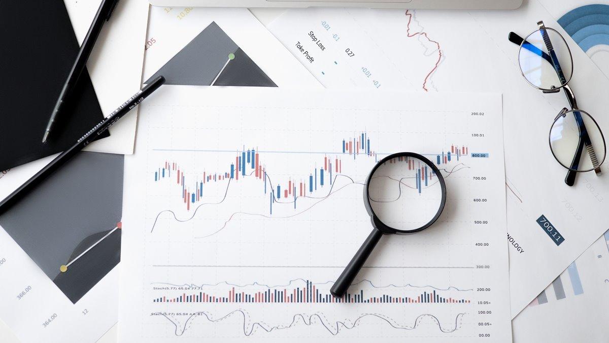 Ilustrasi leverage dalam trading forex.
