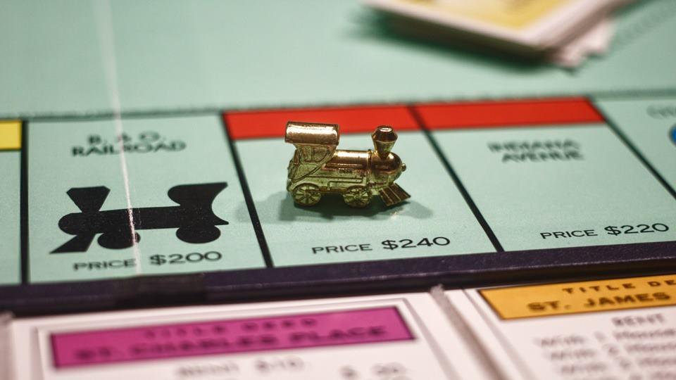 Permainan Monopoly.