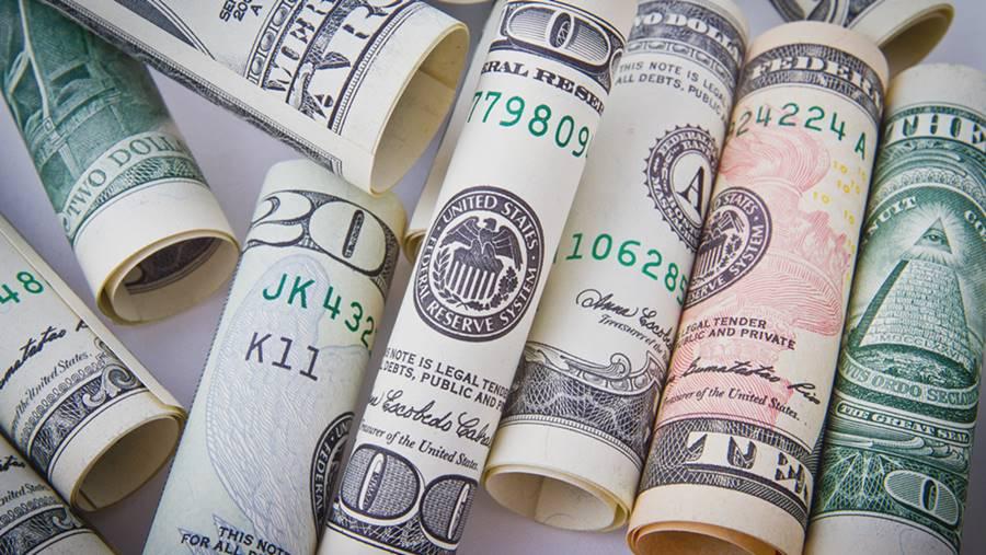 Uang dolar AS.