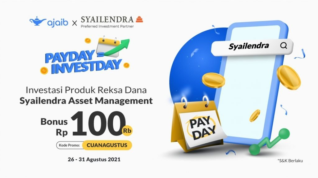 <div>Syarat & Ketentuan Ajaib Payday Agustus 2021 x Syailendra Asset Management</div>